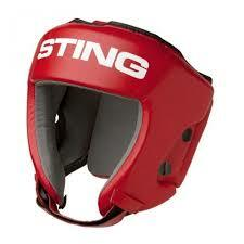 Sting Boxing Head Guard AIBA Approved Blue