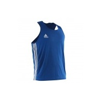 ADIDAS - Slim Fit AIBA Approved Boxing Singlet - Red/Extra Small