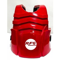 RFG - Dipped Chest Guard/Protector - Blue/Medium