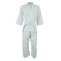 ECONOMY - Karate Gi/Uniform - White - Size 3/160cm