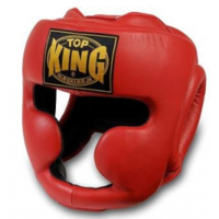 TOP KING - Full Face Head Guard - Black/Large