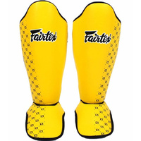 FAIRTEX - Competition Shin Guards - YELLOW (SP5) - Large
