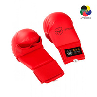 TOKAIDO - Karate Mitts/Gloves - WKF Approved - Red/Small