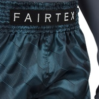 "FAIRTEX - ""Stealth"" Green Muay Thai Shorts (BS1902) - Small"