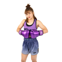 FAIRTEX - Metallic Boxing Gloves (BGV22) - Purple/14oz