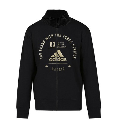 ADIDAS - Karate Jacket Black/Gold - Extra Small