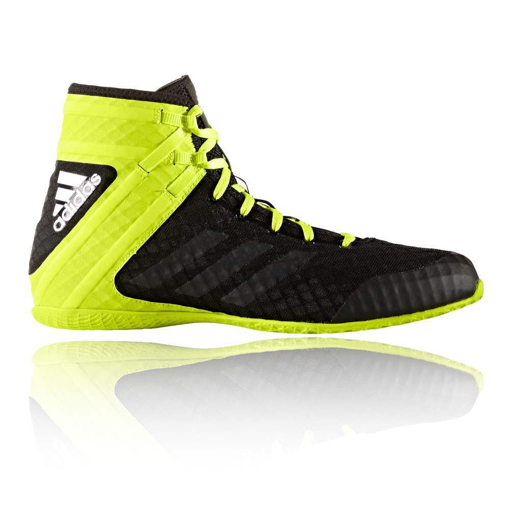 ADIDAS - Speedex 16.1 Boxing/Wrestling Boots Black/Yellow - Size 9