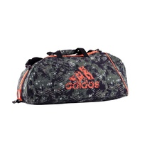 ADIDAS - Combat Camo/Orange Sports/Gym Bag