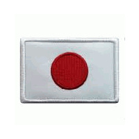 Badge - Japanese Flag