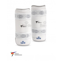 "DAEDO - WT Approved Shin Guards ""Silver Fit"""