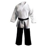 ECONOMY - Salt n Pepper Karate Gi/Uniform