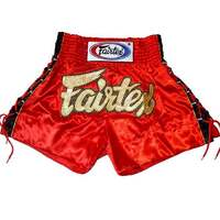 FAIRTEX - Red Lace Muay Thai Boxing Shorts (BS0602)