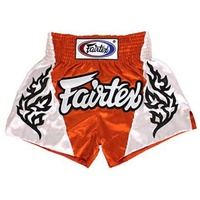 FAIRTEX - Tropical Orange Muay Thai Boxing Shorts (BS0649)