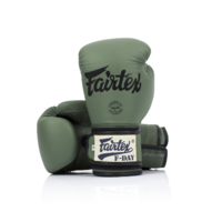 FAIRTEX - F-Day Limited Edition Army Green Boxing Gloves (BGV11)