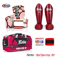 FAIRTEX - Red Sparring Kit
