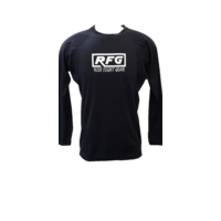 RFG - Black Long Sleeve Rash Guard