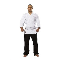 RISING SUN - 8oz Gengi Karate Gi/Uniform - Salt n Pepper