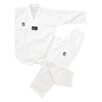 WACOKU - White V Ribbed TaeKwondo Dobok/Uniform - WT Approved