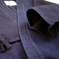 WARRIOR - Silver Label Keikogi Jacket - Dark Blue