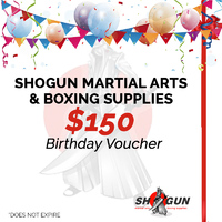 $150 Birthday Gift Voucher / Certificate