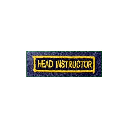 Badge - Head Instructor