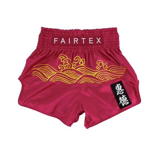 "FAIRTEX - ""Golden River"" Muay Thai Shorts (BS1910) - Small"