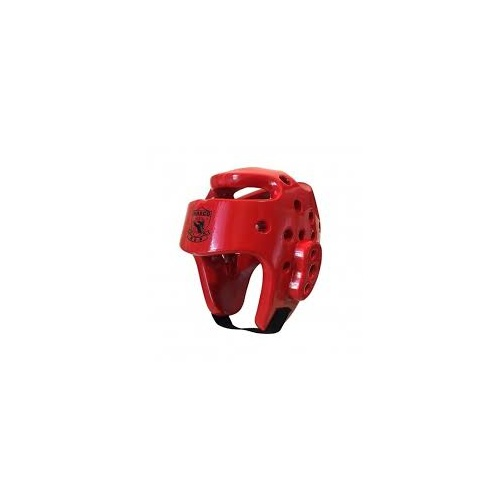 MASCO - Dipped Head Gear/Guard - Red/Large