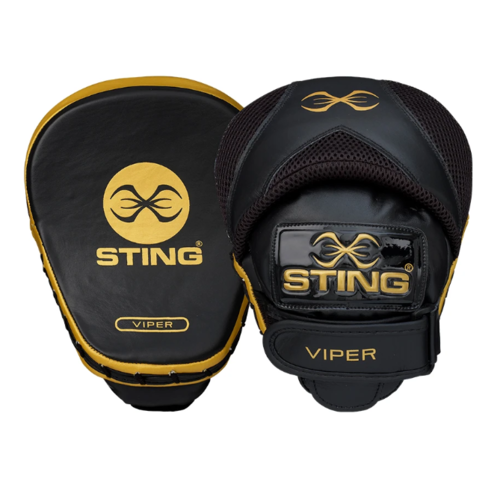 STING - Viper Speed Focus Mitts - Black/Gold