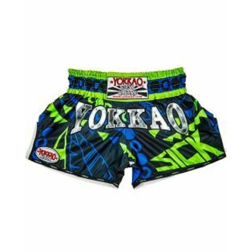 YOKKAO - CarbonFit Shorts - SICK/ATTACK - Small